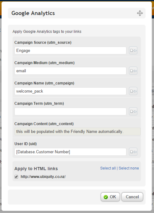 Google Analytics new fields