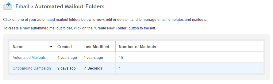Automated mailout folders